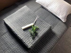 イブル・オーガニック・暮らしを快適にする韓国ふとん(墨グロ・3サイズ・115/150/200)