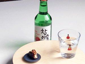 朝鮮時代の王様と王妃のグラス