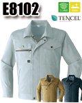 商品詳細へ:AC E8102 長袖ブルゾン 「テンセル」