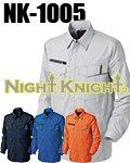 商品詳細へ:NK-1005 ワークシャツ 【NIGHT KNIGHT】