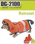 【NIGHT KNIGHT(ナイトナイト)】DG-2100 小型犬用安全レインコート