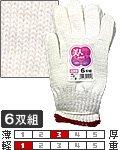 商品詳細へ:SZ 110 美人手袋 6双組