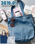 商品詳細へ:CAB 3970-01 デニムトートバッグ