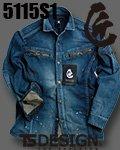 商品詳細へ:TS DEDESIGN® 5115S1 匠SILVER 長袖シャツ
