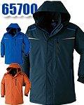 商品詳細へ:AC 65700 TACTEEM®持続撥水素材 透湿防水防寒コート