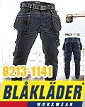 商品詳細へ:BB 8213-1141 【BLAKLADER®】CRAFTMAN TROUSER STRETCH