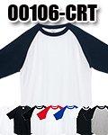 商品詳細へ:Printstar 00106-CRT 5.6oz ヘビーウェイトラグランTシャツ