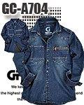 商品詳細へ:TK GC-A704 【GRANCISCO】デニムシャツ