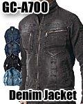 商品詳細へ:TK GC-A700 【GRANCISCO】デニムジャケット