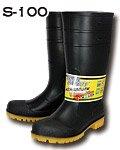 商品詳細へ:KS S-100 ゾナセーフティー安全耐油長靴 踏抜き防止