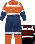 商品詳細へ:YD 7600 反射型ツヅキ服(安全作業つなぎ服)