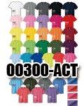 商品詳細へ:glimmer 00300-ACT 【吸汗速乾】ドライTシャツ 4.4オンス