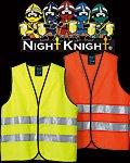 商品詳細へ:【NIGHT KNIGHT(ナイトナイト)】TU-NP10 高視認性安全ベスト(CLASS2)