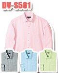 商品詳細へ:D-pit DV-S581 長袖ドットラインシャツ