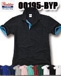 商品詳細へ:Printsta  00195-BYP ベーシックレイヤード半袖ポロシャツ