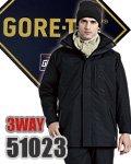 商品詳細へ:AC GORE-TEX  51023 3WAY防水防寒コート