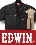 EDWIN® 31-81001 半袖ツナギ服