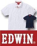 商品詳細へ:EDWIN® 35-85005 半袖ポロシャツ