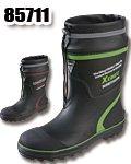 商品詳細へ:XB 85711 安全長靴ショート丈 吸汗裏