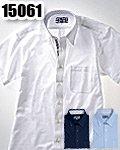 商品詳細へ:XB 15061 半袖ニットBDシャツ 【COOLBIZ】