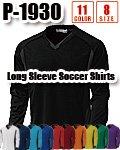 商品詳細へ:WD P-1930 【吸汗速乾】ベーシックロングスリーブサッカーシャツ
