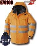 商品詳細へ:AC E79100 高視認性セーフティ防寒コート