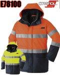 商品詳細へ:AC E78100 高視認性透湿防水防寒コート