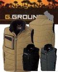 商品詳細へ:SOW 5106 『G.GROUND』防寒ベスト 綿100%