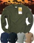 商品詳細へ:SOW 50484 【G.GROUND】長袖ヘンリーネックシャツ 綿100%