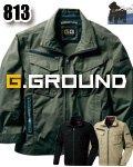 商品詳細へ:SOW 813 【G.GROUND】長袖ブルゾン