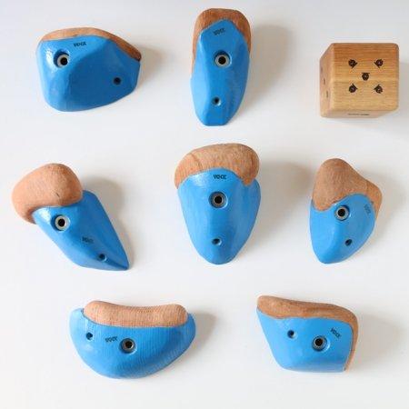 カラーリング木製クライミングホールド(ボルトオン) �3