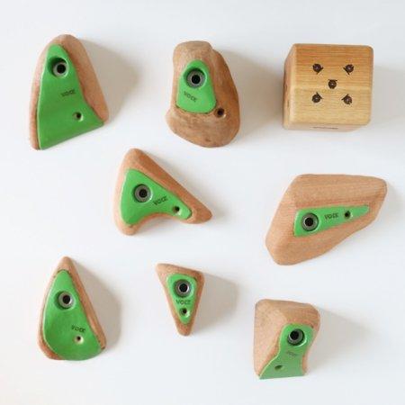 カラーリング木製クライミングホールド(ボルトオン) �5