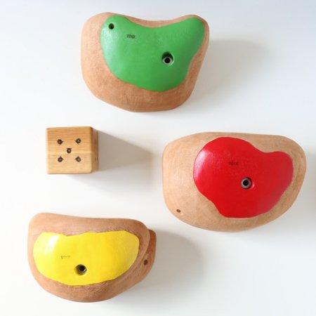 カラーリング木製クライミングホールド(ボルトオン) �6