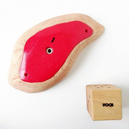 カラーリング木製クライミングホールド(ボルトオン) �10