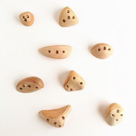 木製クライミングホールド(スクリューオン)�65