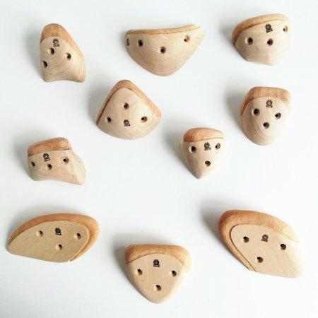 木製クライミングホールド(スクリューオン) �66