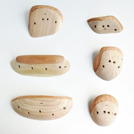 木製クライミングホールド(スクリューオン) �73