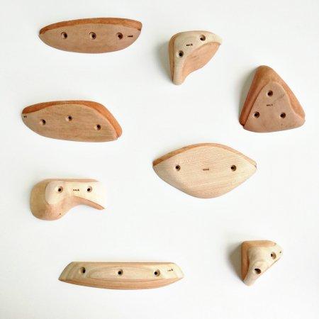 木製クライミングホールド(スクリューオン) �75