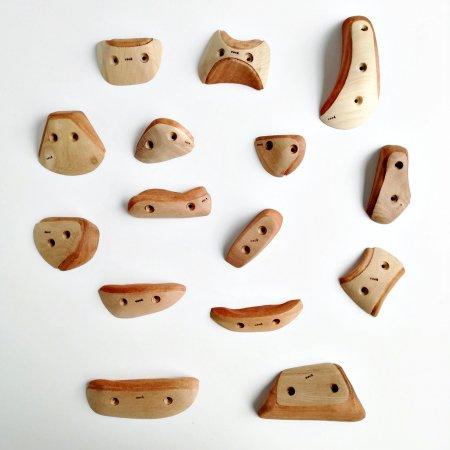 木製クライミングホールド(スクリューオン) �80