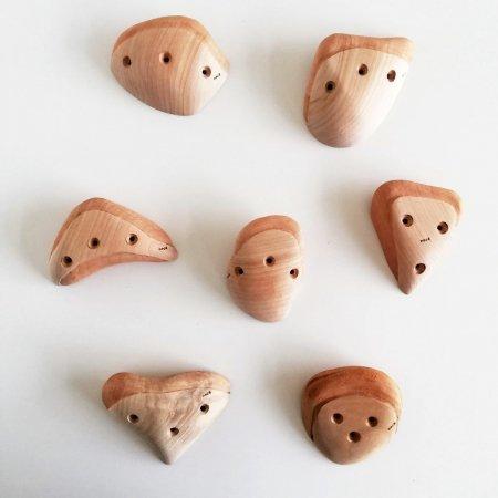 木製クライミングホールド(スクリューオン) �86