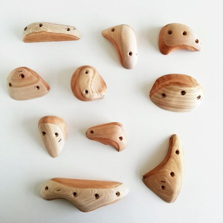 木製クライミングホールド(スクリューオン) �87