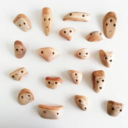 木製クライミングホールド(スクリューオン) �88