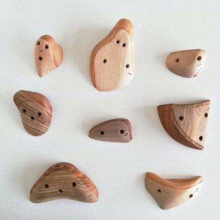 木のクライミングホールド(ネジ使用) �91