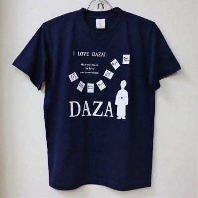 LOVE DAZAI Tシャツ/ネイビー
