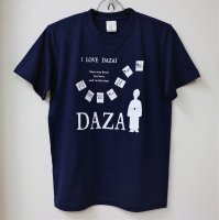 <img class='new_mark_img1' src='//img.shop-pro.jp/img/new/icons30.gif' style='border:none;display:inline;margin:0px;padding:0px;width:auto;' />LOVE DAZAI Tシャツ/ネイビー