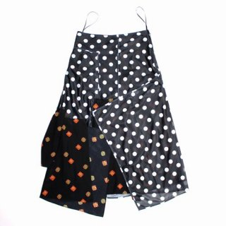 J.W.ANDERSON 18SS Polka Dot Skirt w/Floral ポルカドットスカート フローラル