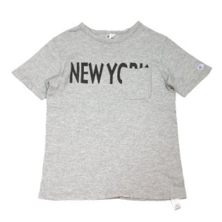 URBAN RESEARCH DOORS Mt.Design Champion別注 CREW NECK T-SHIRTS WITH POCKET Tシャツ