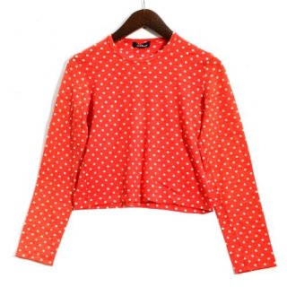 tricot COMME des GARCONS トリコ コムデギャルソン 09AW ドット ニットカットソー