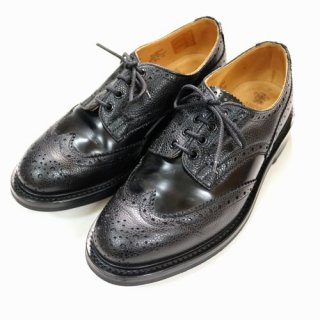 Tricker's トリッカーズ Mens Two Tomg Derby Brogues 2トーンウイングチップレザーシューズ