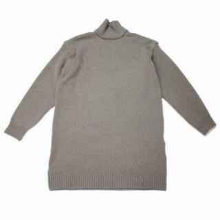 YOKE ヨーク 19AW DETACHABLE FOLD UP SHARE KNIT GRAYGE ニット